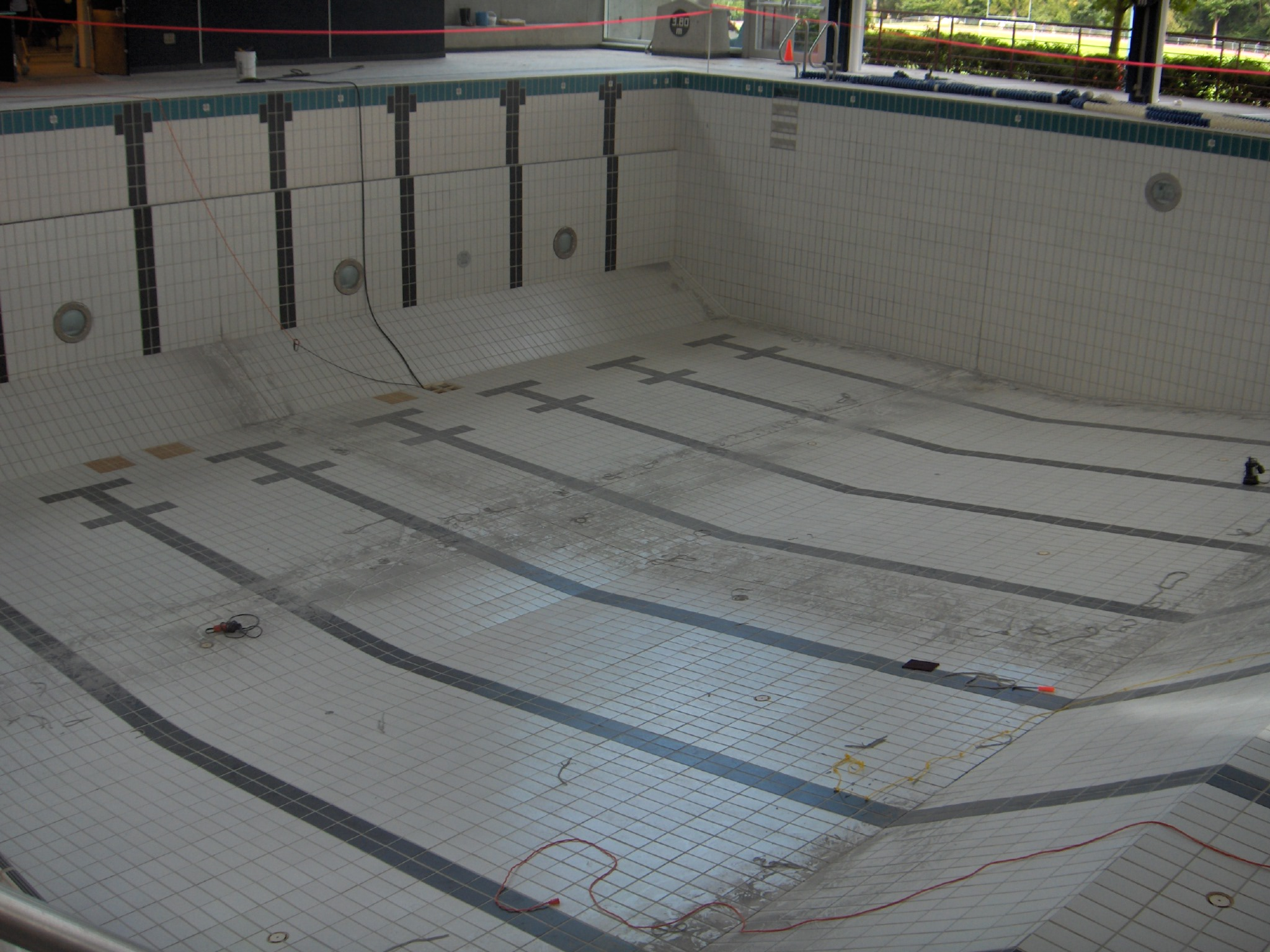Belzona Elastomers Used For Swimming Pool Expansion Joints